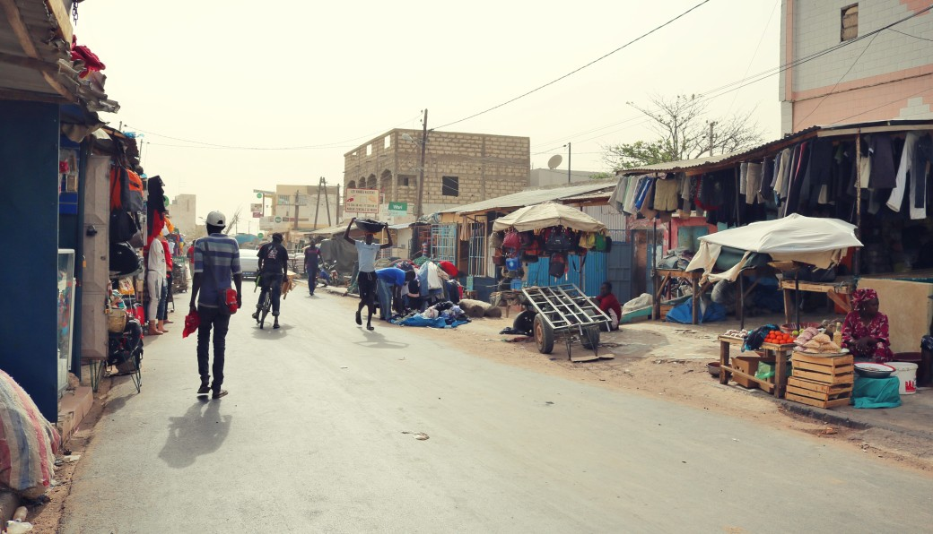 Sénégal M'bour Arrivée des pêcheurs