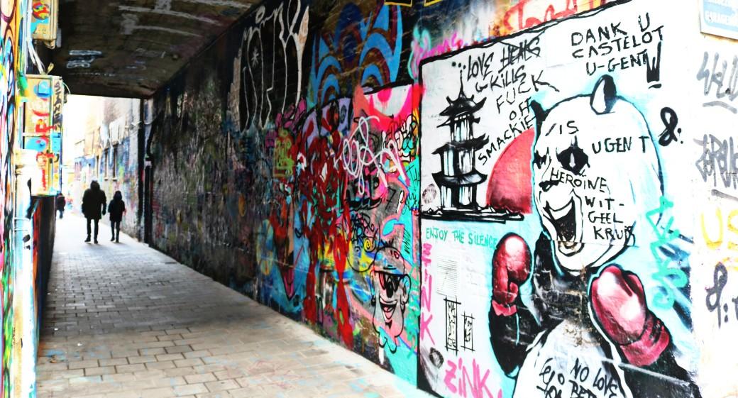 Werregarenstraat Graffiti Street Gand Gent
