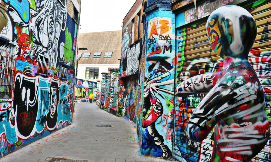Werregarenstraat: Graffiti Street Gand Gent