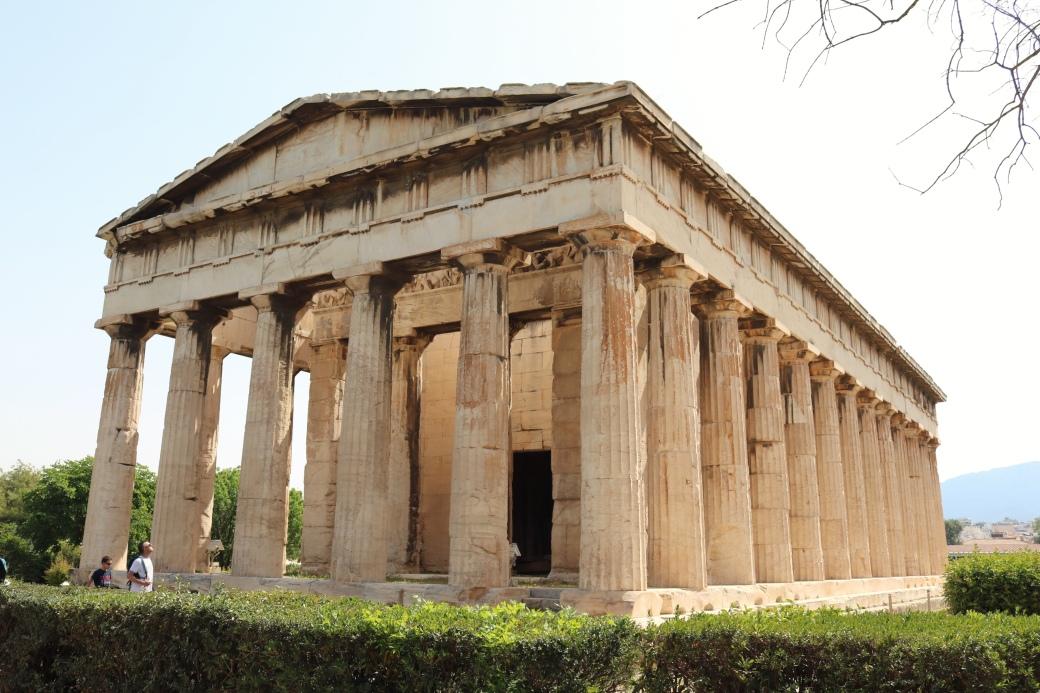 Athènes en 3 jours Agora Héphaïstéion