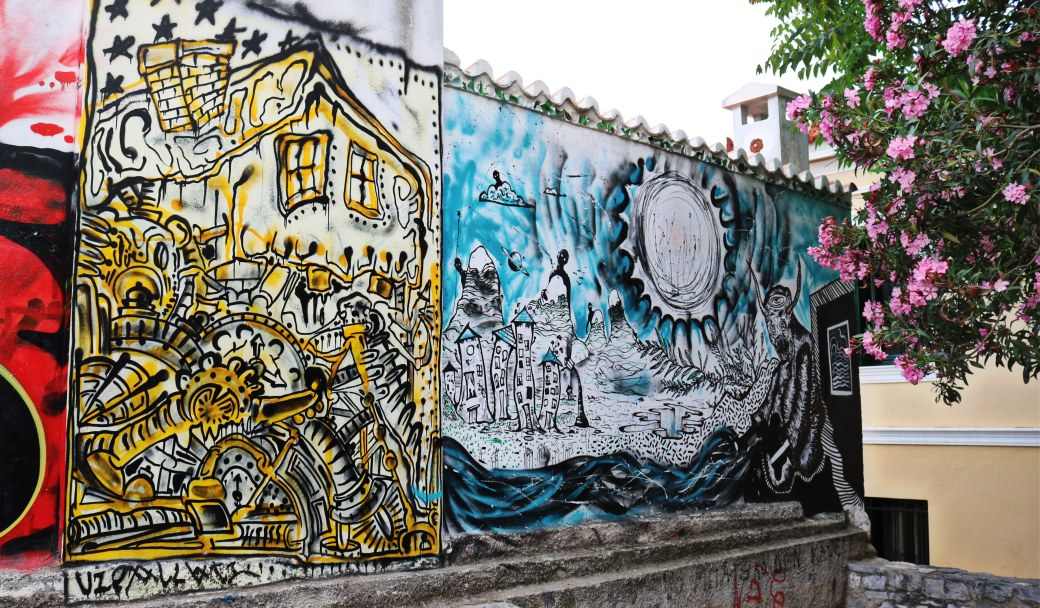 Street Art Athènes Plaka