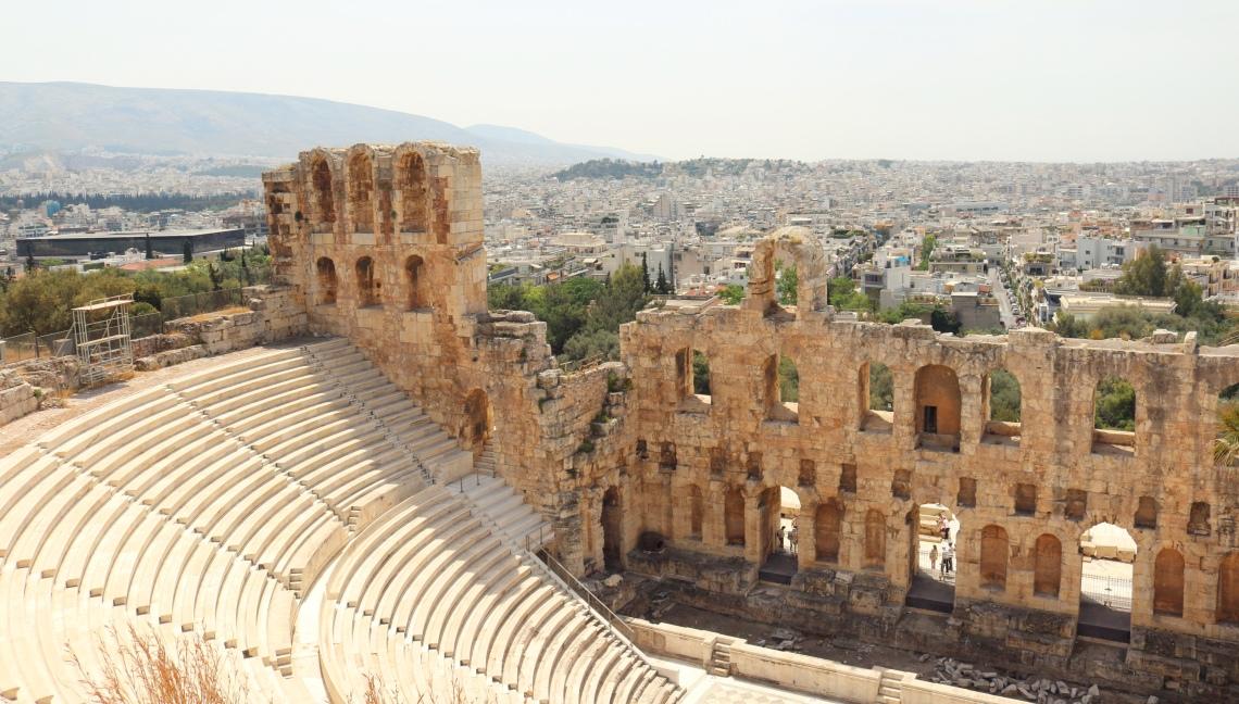Athènes en 3 jours Acropole Odéon d'Hérode Atticus