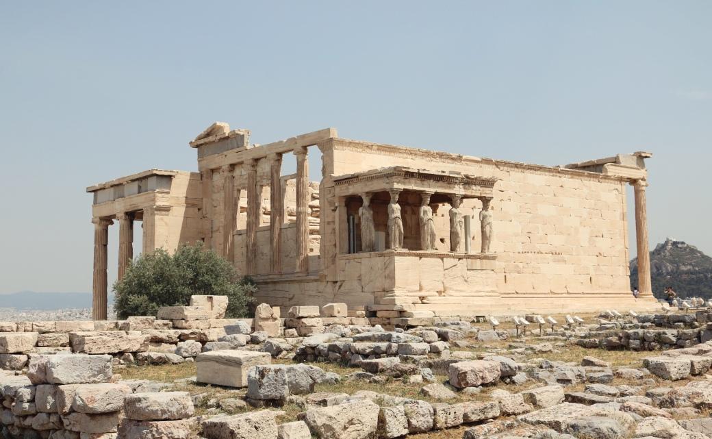 Athènes en 3 jours Érechthéion Cariatides