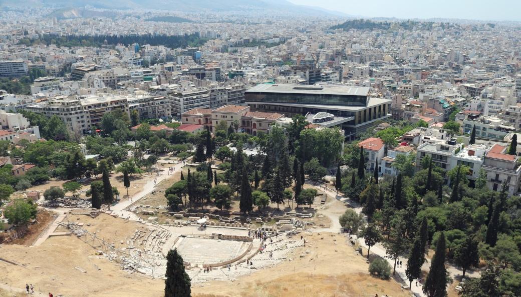 Athènes en 3 jours Acropole théâtre de Dionysos