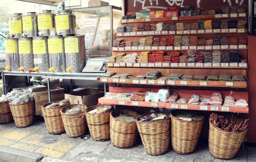 Athènes en 3 jours marché central