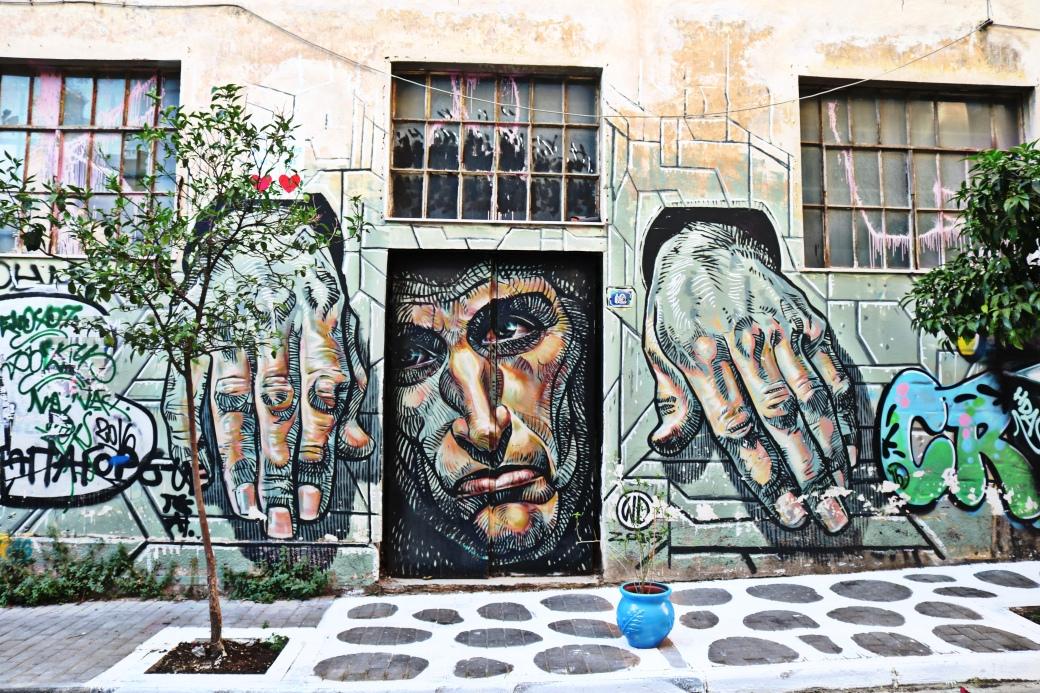 Street Art Athènes Psyri Psirri