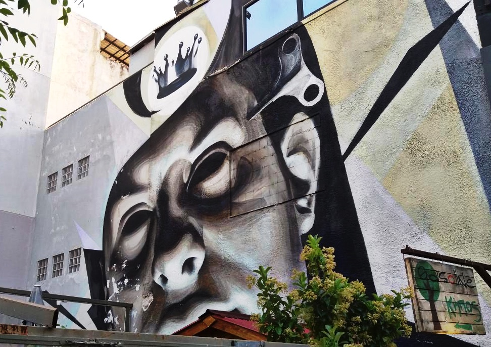 Street Art Athènes Ino